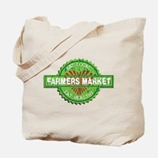 Farmers Market Heart Tote Bag