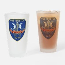 Unique Bristol Drinking Glass