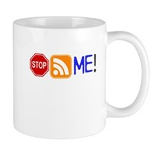 Stop (Sign) Following Me! RSS Icon Mug
