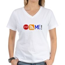 Stop (Sign) Following Me! RSS Icon Shirt