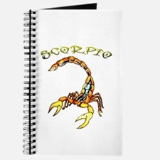Tribal Scorpio Design Journal