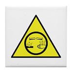 Corrosive Tile Coaster
