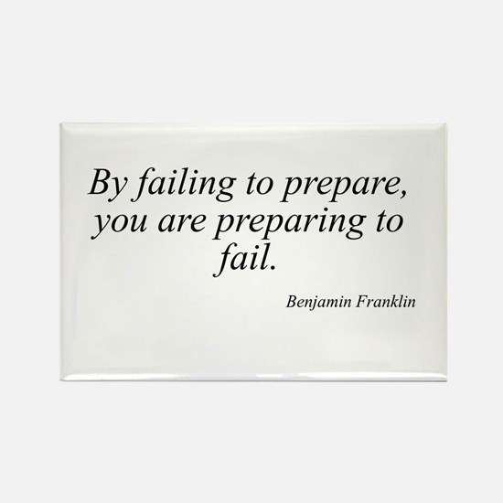 Benjamin Franklin quote 30 Rectangle Magnet