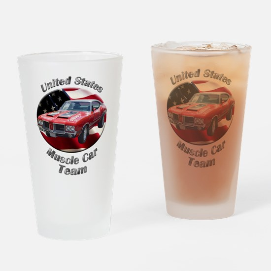 Olds 4-4-2 Drinking Glass