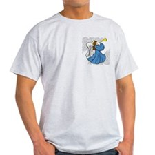 Angel in Blue T-Shirt