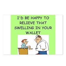 funny doctor joke Postcards (Package of 8)