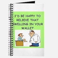 funny doctor joke Journal