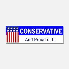 Conservative Slogan Car Magnet 10 x 3
