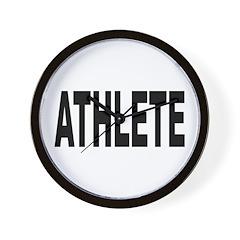Athlete Wall Clock