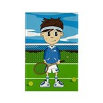 Cute tennis Boy Magnet (100 Pk)
