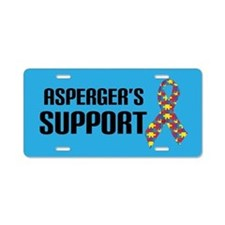 Asperger's Support Awareness License Plate