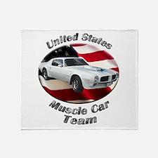 Pontiac Trans Am Super Duty Throw Blanket