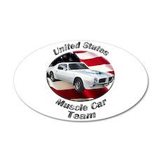Pontiac Trans Am Super Duty Medium Oval Wall Peel