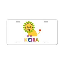 Keira the Lion Aluminum License Plate