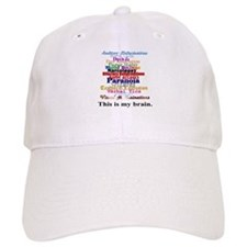This Is My Brain Baseball Cap