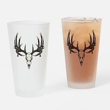 Big whitetail buck Drinking Glass