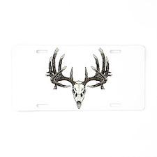 Big whitetail buck Aluminum License Plate