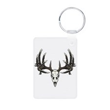 Big whitetail buck Aluminum Photo Keychain