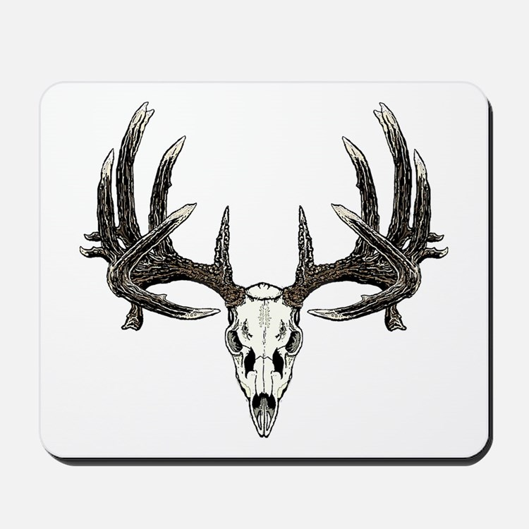 Big whitetail buck Mousepad