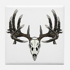 Big whitetail buck Tile Coaster