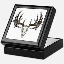 Big whitetail buck Keepsake Box