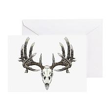 Big whitetail buck Greeting Card