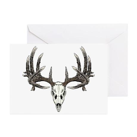 Big whitetail buck Greeting Cards (Pk of 20)