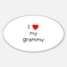 I love my grammy Decal