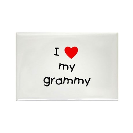 I love my grammy Rectangle Magnet (100 pack)