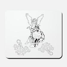 Classic Angel in Heaven Mousepad