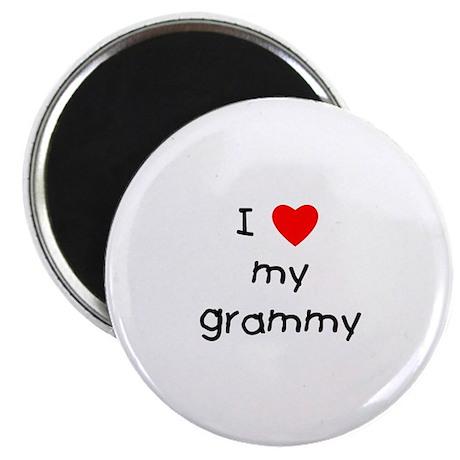 "I love my grammy 2.25"" Magnet (100 pack)"