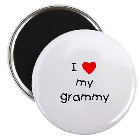 I love my grammy Magnet