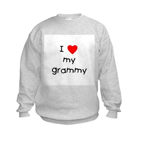 I love my grammy Kids Sweatshirt