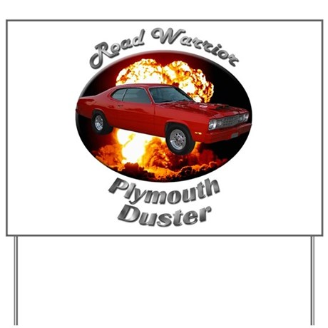 Plymouth Duster Yard Sign