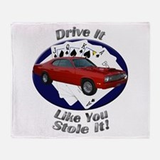 Plymouth Duster Throw Blanket