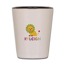 Ryleigh the Lion Shot Glass