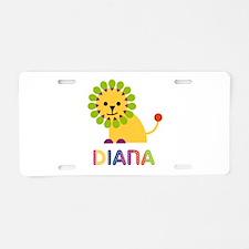 Diana the Lion Aluminum License Plate