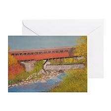 Taftsville Covered Bridge IV Greeting Card