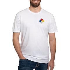 Fire Diamond 2 Fitted T-Shirt