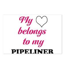 My Heart Belongs to my Pipeli Postcards (Package o