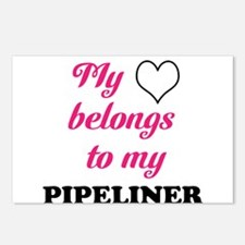 My Heart Belongs to my Pipeli Postcards (Package o