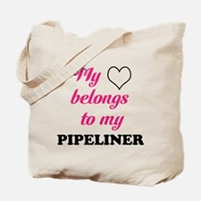 My Heart Belongs to my Pipeli Tote Bag