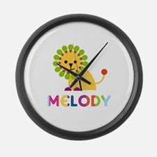 Melody the Lion Large Wall Clock