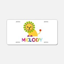 Melody the Lion Aluminum License Plate