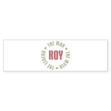 Roy Man Myth Legend Sticker (Bumper)