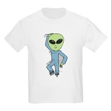 Martian-on-ice Kids T-Shirt