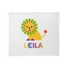 Leila the Lion Throw Blanket