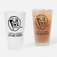 No Gods No Masters Drinking Glass