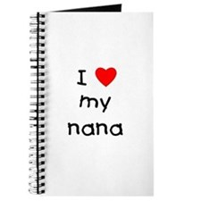 I love my nana Journal