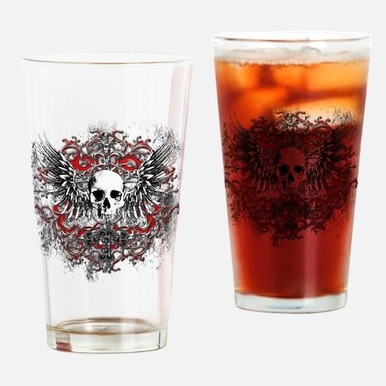 skullcrest Drinking Glass